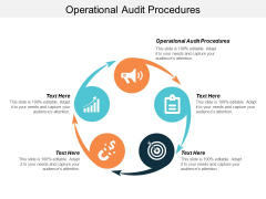 Operational Audit Procedures Ppt Powerpoint Presentation Layouts Example Cpb