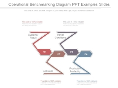 Operational Benchmarking Diagram Ppt Examples Slides