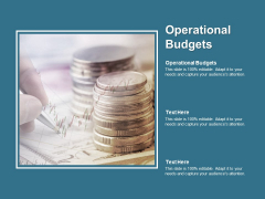 Operational Budgets Ppt PowerPoint Presentation File Deck Cpb Pdf