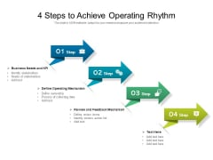 Operational Business Strategy With Review And Feedback Mechanism Ppt PowerPoint Presentation File Files PDF