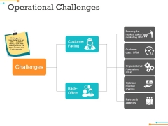 Operational Challenges Ppt PowerPoint Presentation Styles Example Topics