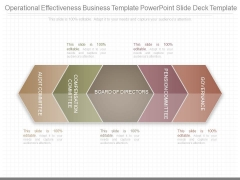 Operational Effectiveness Business Template Powerpoint Slide Deck Template