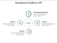 Operational Excellence KPI Ppt PowerPoint Presentation Infographic Template Graphics Tutorials Cpb