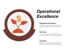 Operational Excellence Ppt Powerpoint Presentation Inspiration Deck Cpb
