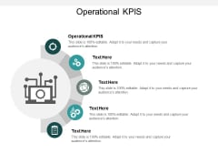 Operational KPIS Ppt PowerPoint Presentation Ideas Clipart Images Cpb