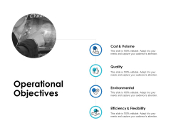 Operational Objectives Quality Ppt PowerPoint Presentation Layouts Deck