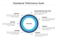 Operational Performance Goals Ppt PowerPoint Presentation Inspiration Information Cpb