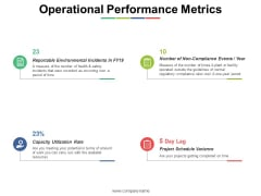 Operational Performance Metrics Ppt PowerPoint Presentation Styles Inspiration