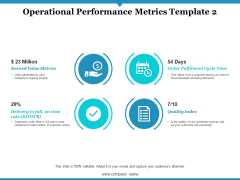 Operational Performance Metrics Quality Index Ppt PowerPoint Presentation Infographic Template Example 2015