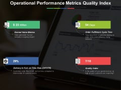 Operational Performance Metrics Quality Index Ppt PowerPoint Presentation Summary Layout Ideas