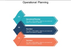 Operational Planning Ppt PowerPoint Presentation Styles Slides Cpb