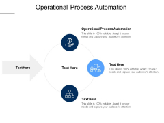 Operational Process Automation Ppt PowerPoint Presentation Outline Good Cpb