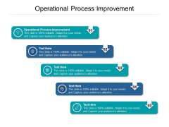 Operational Process Improvement Ppt PowerPoint Presentation Layouts Introduction Cpb