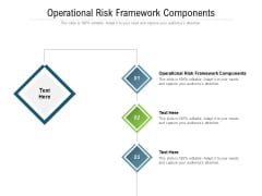 Operational Risk Framework Components Ppt PowerPoint Presentation Icon Layout Cpb Pdf