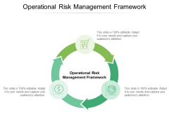 Operational Risk Management Framework Ppt PowerPoint Presentation Outline Portfolio Cpb