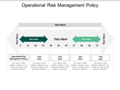 Operational Risk Management Policy Ppt PowerPoint Presentation Ideas Show Cpb