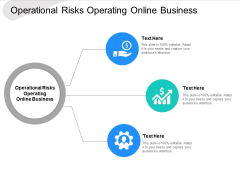 Operational Risks Operating Online Business Ppt PowerPoint Presentation Icon Grid Cpb