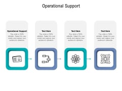 Operational Support Ppt PowerPoint Presentation Gallery Deck Cpb Pdf