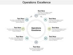 Operations Excellence Ppt PowerPoint Presentation Pictures Styles Cpb