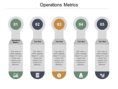 Operations Metrics Ppt PowerPoint Presentation File Picture Cpb