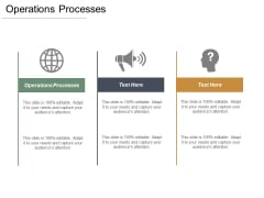 Operations Processes Ppt PowerPoint Presentation Professional Graphics Download Cpb