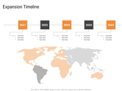Opportunities And Threats For Penetrating In New Market Segments Expansion Timeline Graphics PDF