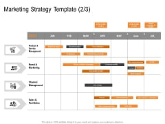Opportunities And Threats For Penetrating In New Market Segments Marketing Strategy Template Channel Diagrams PDF