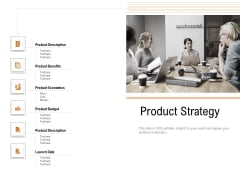 Opportunities And Threats For Penetrating In New Market Segments Product Strategy Sample PDF