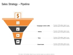 Opportunities And Threats For Penetrating In New Market Segments Sales Strategy Pipeline Template PDF