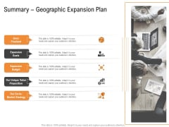 Opportunities And Threats For Penetrating In New Market Segments Summary Geographic Expansion Plan Microsoft PDF