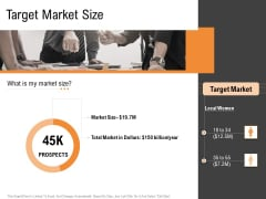 Opportunities And Threats For Penetrating In New Market Segments Target Market Size Professional PDF