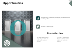 Opportunities Business Ppt PowerPoint Presentation Icon Master Slide