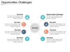 Opportunities Challenges Ppt PowerPoint Presentation Styles Inspiration Cpb