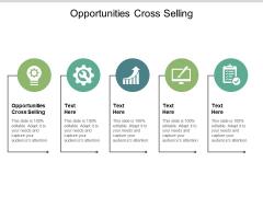 Opportunities Cross Selling Ppt PowerPoint Presentation Portfolio Maker Cpb