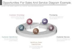 Opportunities For Sales And Service Diagram Example