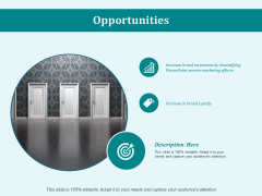 Opportunities Ppt PowerPoint Presentation Portfolio Show