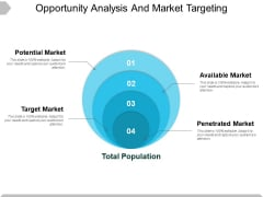 Opportunity Analysis And Market Targeting Ppt PowerPoint Presentation Slides Influencers