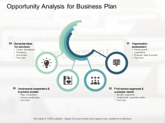 Opportunity Analysis For Business Plan Ppt PowerPoint Presentation Styles Outline