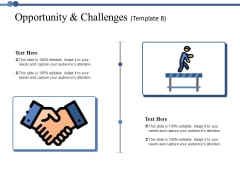 Opportunity And Challenges 8 Ppt PowerPoint Presentation Icon Visuals