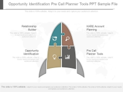 Opportunity Identification Pre Call Planner Tools Ppt Sample File