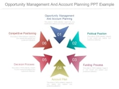 Opportunity Management And Account Planning Ppt Example