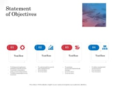 Opportunity Of Project Management Statement Of Objectives Ppt Show Information PDF