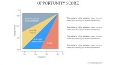 Opportunity Score Ppt PowerPoint Presentation Backgrounds