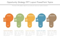 Opportunity Strategy Ppt Layout Powerpoint Topics