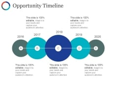 Opportunity Timeline Ppt PowerPoint Presentation Pictures Inspiration