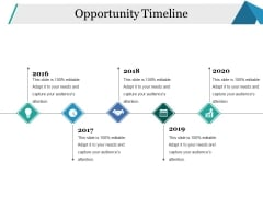 Opportunity Timeline Ppt PowerPoint Presentation Pictures Templates
