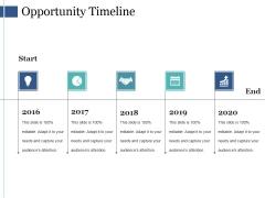 Opportunity Timeline Ppt PowerPoint Presentation Professional Slides