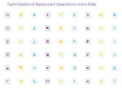 Optimization Of Restaurant Operations Icons Slide Ppt Inspiration Show PDF