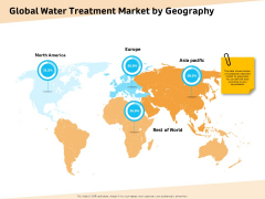 Optimization Of Water Usage Global Water Treatment Market By Geography Ppt Pictures Templates PDF