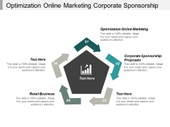 Optimization Online Marketing Corporate Sponsorship Proposals Retail Business Ppt PowerPoint Presentation Icon Visual Aids Cpb
